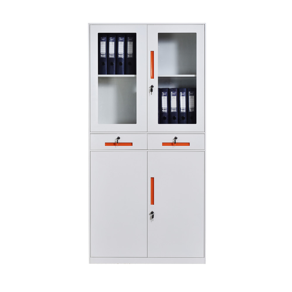 steel cabinet with 2 drawers