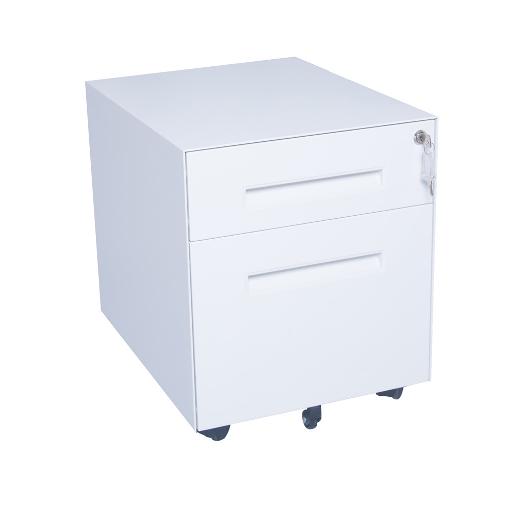 2 drawer Metal Mobile File Cabinet