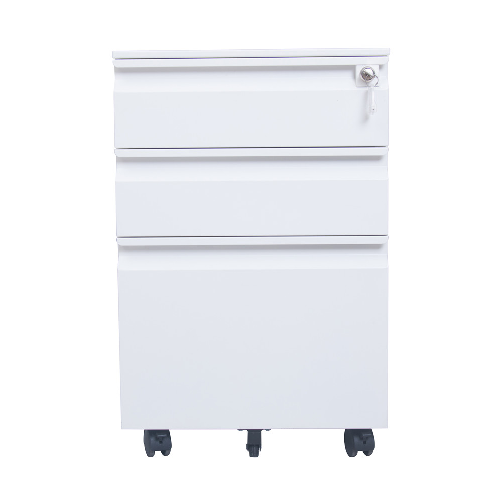 White Mobile drawer cabinet