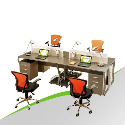 Office Partition 4 Person Workstation