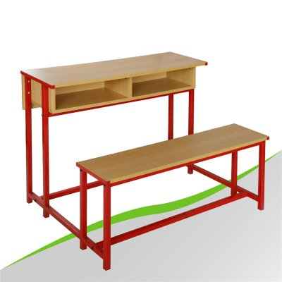 Siamesed Study Table and Chair