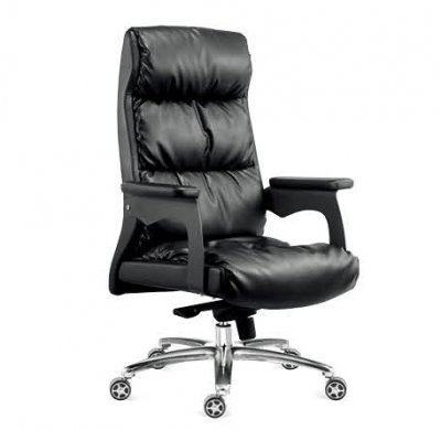 Leather Excutive chair black co