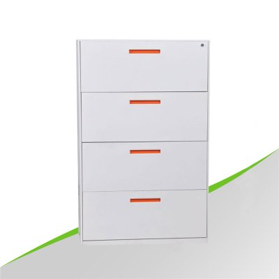 Lateral thin edge 4 Drawer Cabinet