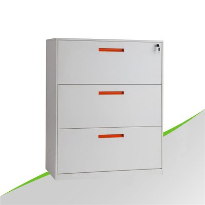 Lateral thin edge 3 Drawer Cabinet