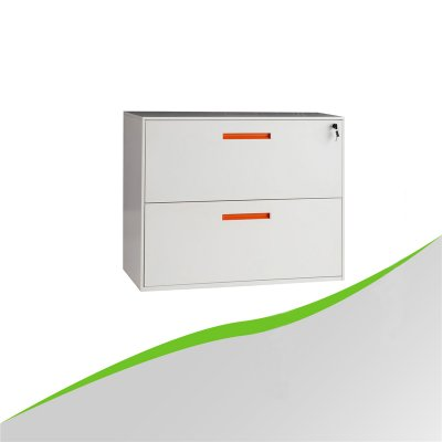 Lateral thin edge 2 Drawer Cabinet