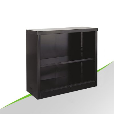 2 layer steel bookcase